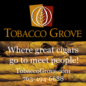 "Tobacco Grove - ""Where great cigars go to meet people."""